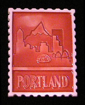 Portland magnets and ornaments